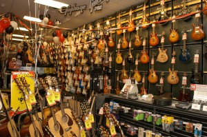 Banjos in Bulk: Guitar Center to Replace Borders Books at Public Market