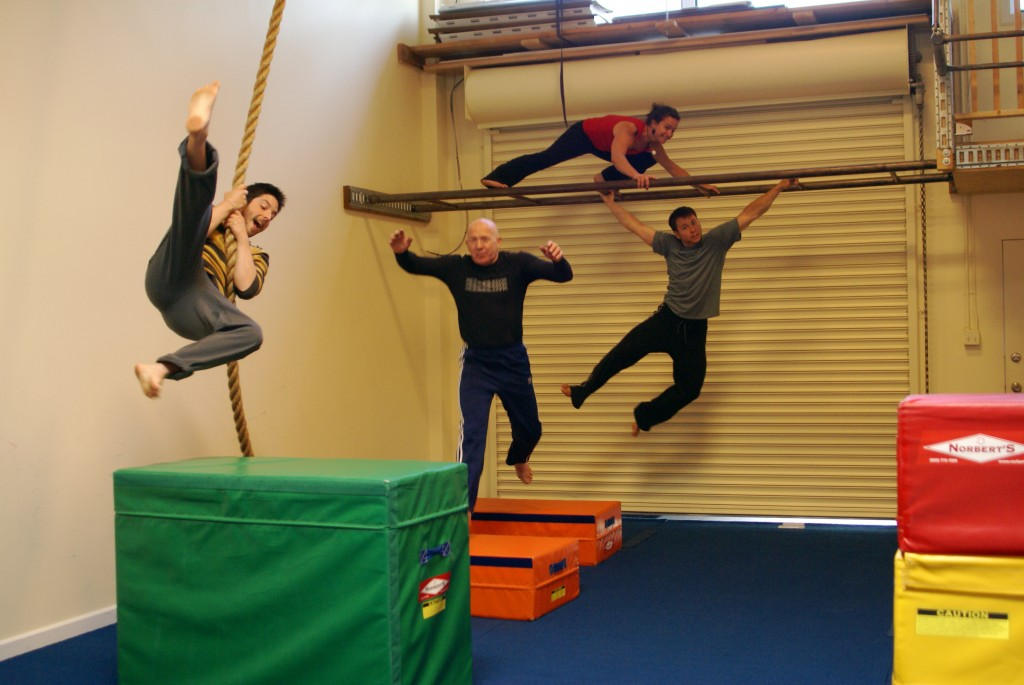 Buy Local: Never Too Old! Find Your Inner Monkey at The Athletic PlayGround